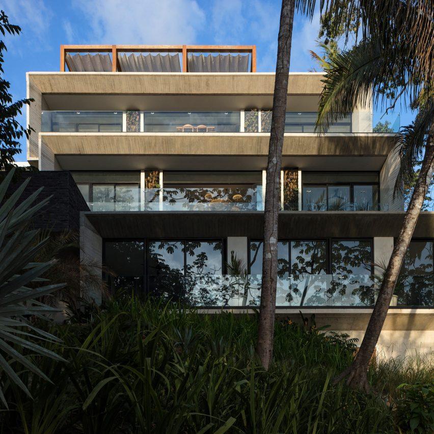 Guarumo apartments in Costa Rica