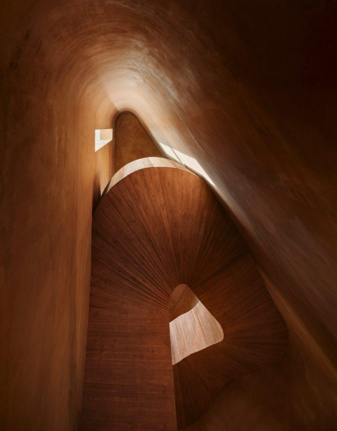 Staircase by Herzog & de Meuron
