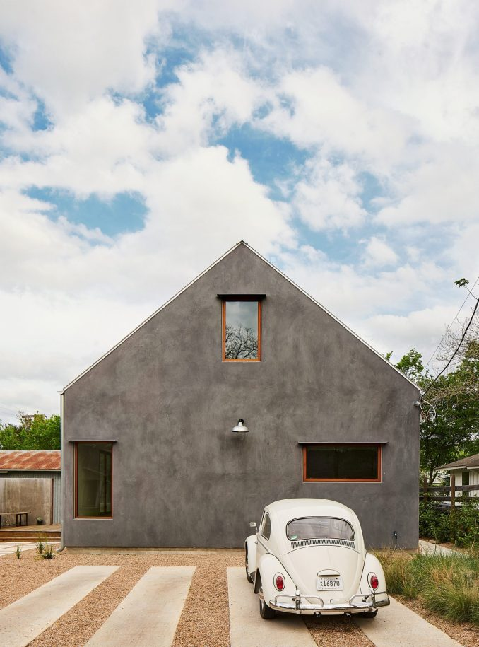 Side Angle Side created the gabled home in Austin