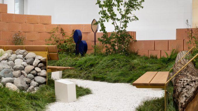 Habitats installation at Milan Design Week by Note Design Studio for Vestre