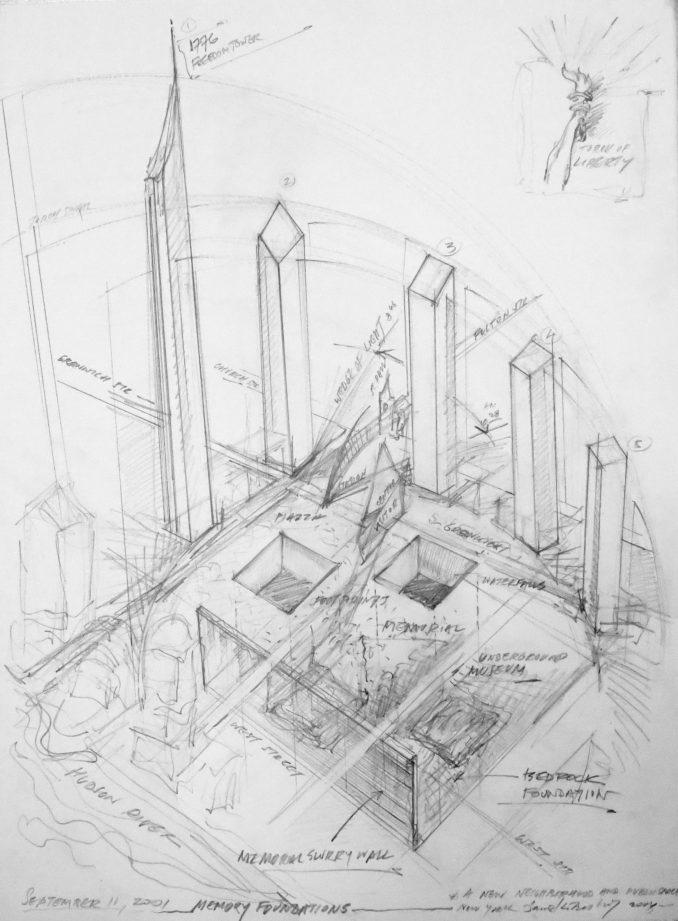 World Trade Centre site masterplan