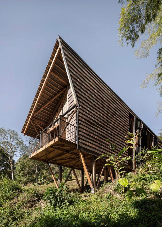 The cabin on stilts