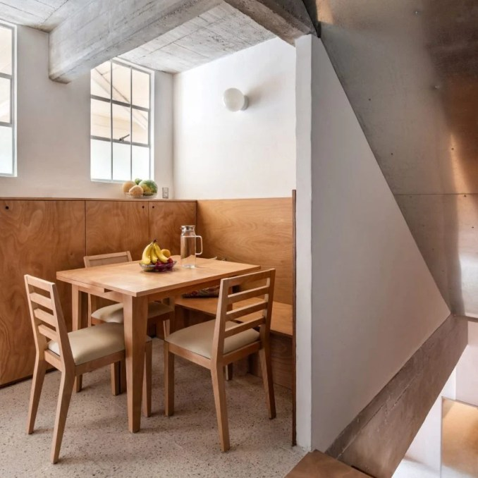 CUPA tower apartment renovation by Escobedo Soliz