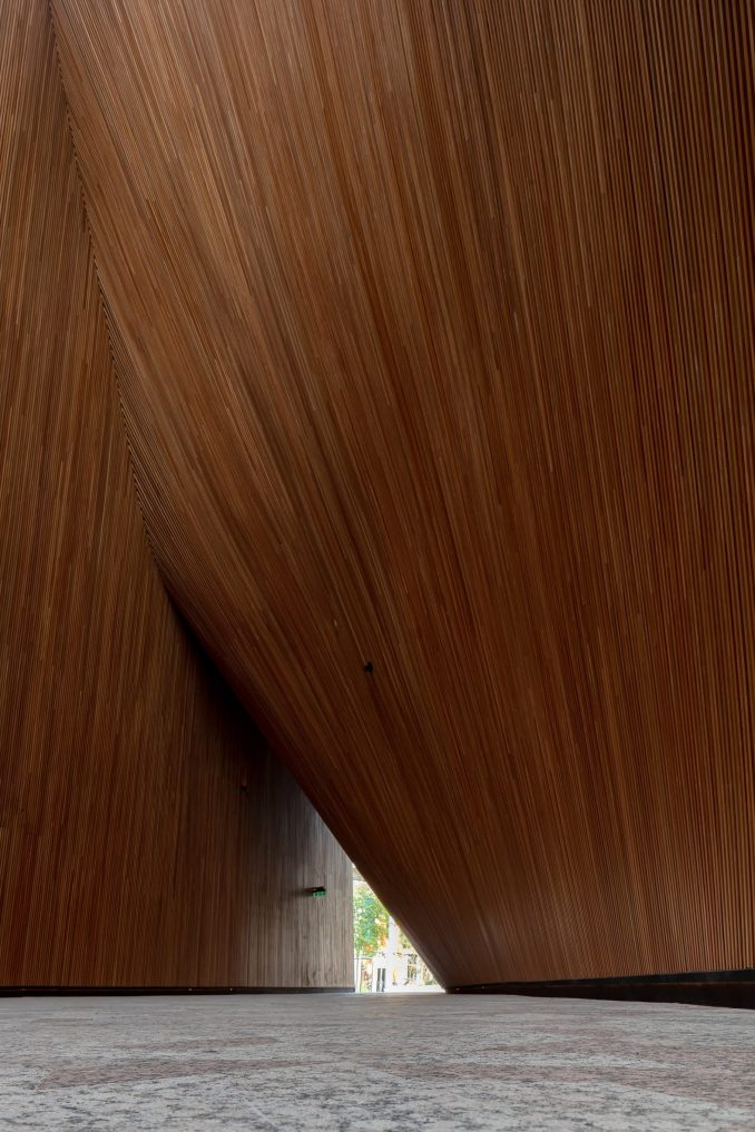 Timber-lined space