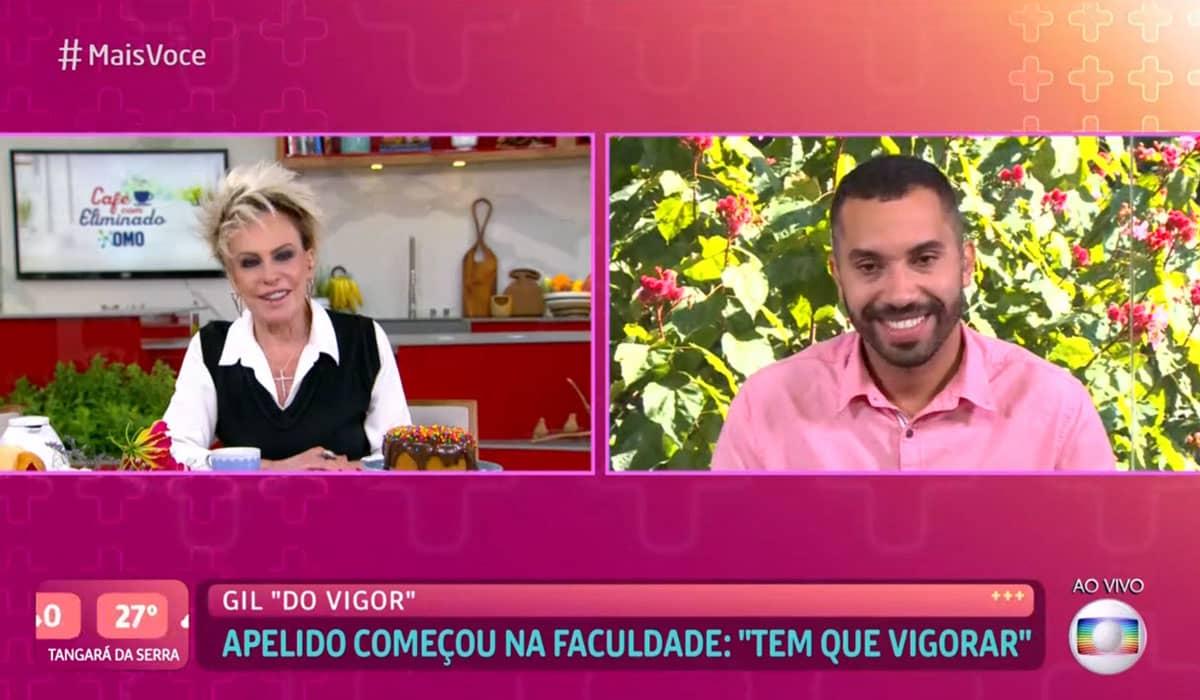 Ana Maria Braga avalia eliminação de Gil do BBB 21 no Mais Você ao vivo de  hoje