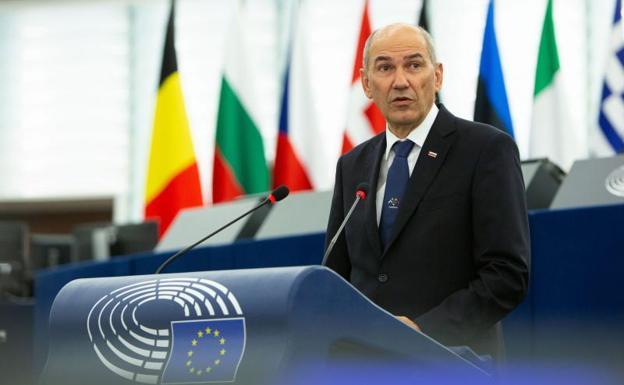 Janez Jansa, Slovenian Prime Minister