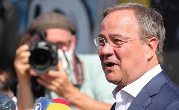 The Christian Democratic candidate, Armin Laschet (CDU).