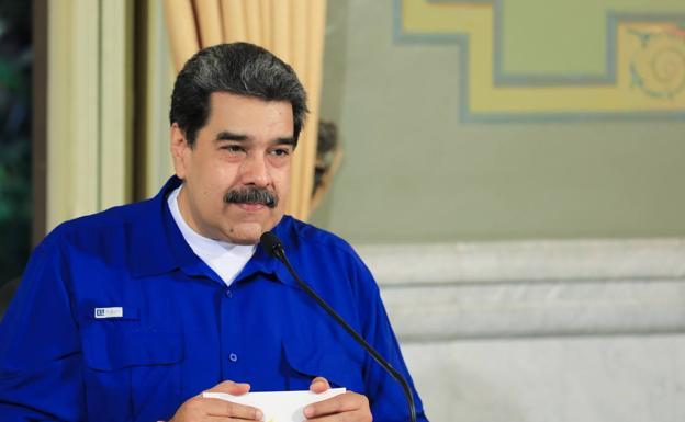 Nicolás Maduro, in a file image.