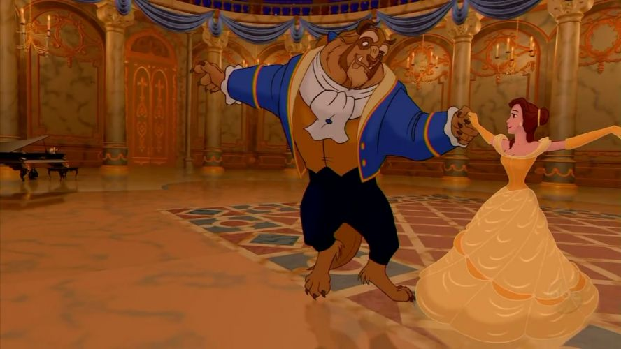 Image result for beauty and the beast 1991 stills