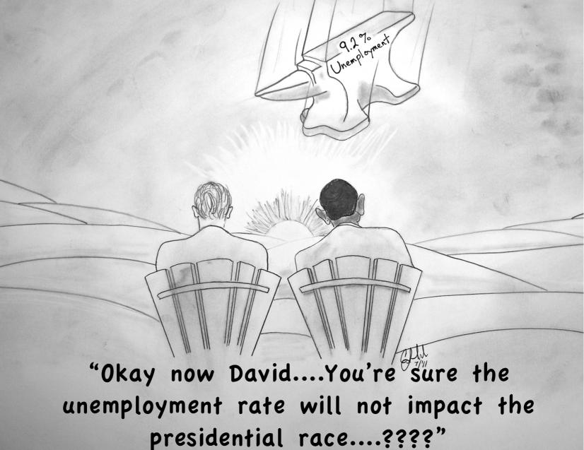 Cartoons By Clayton Liotta @DickMorris.Com: Unemployment & The 2012 Election - Click Here!