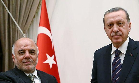 Abadi und Erdogan / Bild: REUTERS