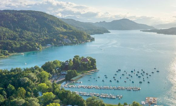 BEACH-VOLLEYBALL:  WOeRTHERSEE STADION
