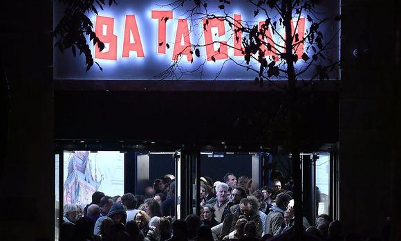 Das Bataclan am Samstagabend / Bild: APA/AFP/PHILIPPE LOPEZ