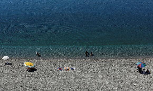 Ein Strand bei Antalya. / Bild: REUTERS