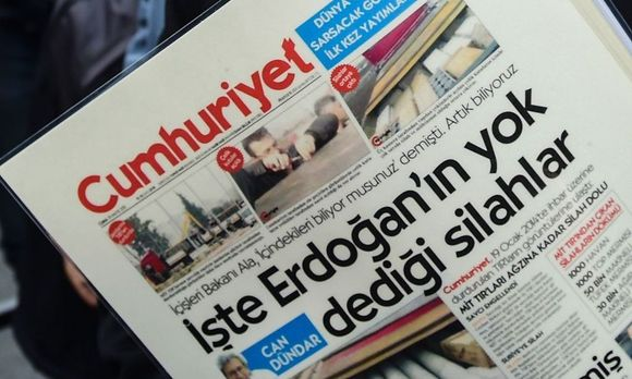 Symbolbild Cumhuriyet / Bild: APA/AFP/BULENT KILIC