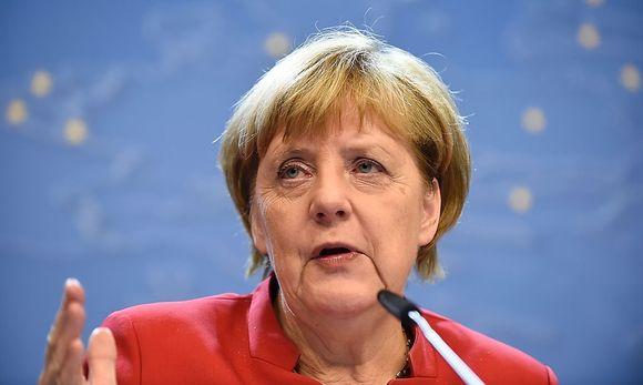 Deutschlands Kanzlerin Angela Merkel (CDU) / Bild: APA/AFP/JOHN THYS