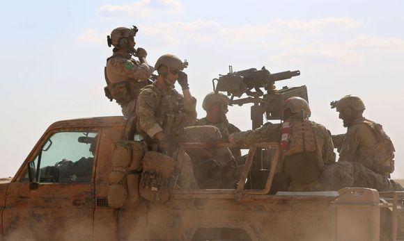Aufnahme der US-Soldaten in Nordsyrien / Bild: APA/AFP/DELIL SOULEIMAN