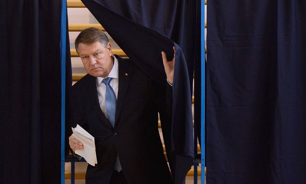 Präsident Klaus Johannis.
