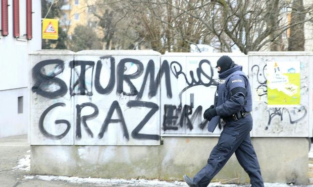 STEIERMARK: ANTI-TERROREINSATZ IN GRAZ – (c) APA/ERWIN SCHERIAU (ERWIN SCHERIAU)