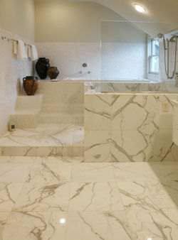 marble tiles vs porcelain tiles