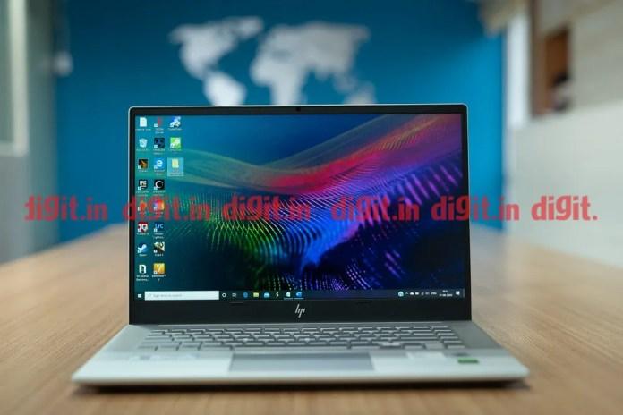 O HP Envy 15 oferece uma tela FHD IPS