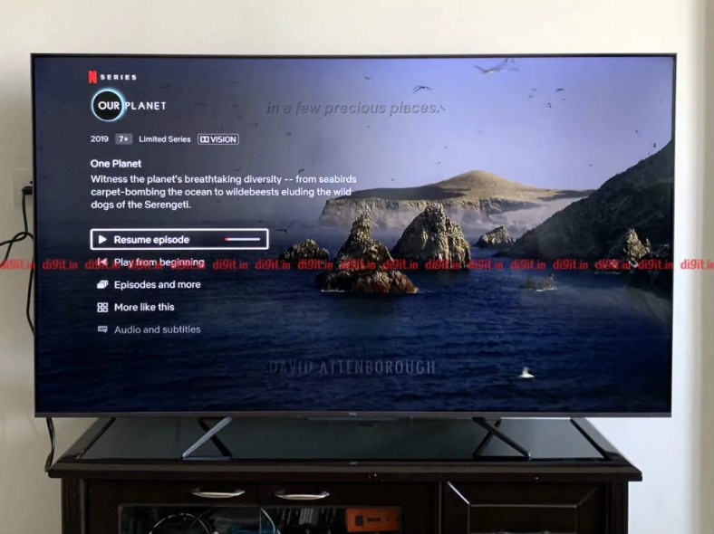 The TCL C715 supports Dolby Vision.