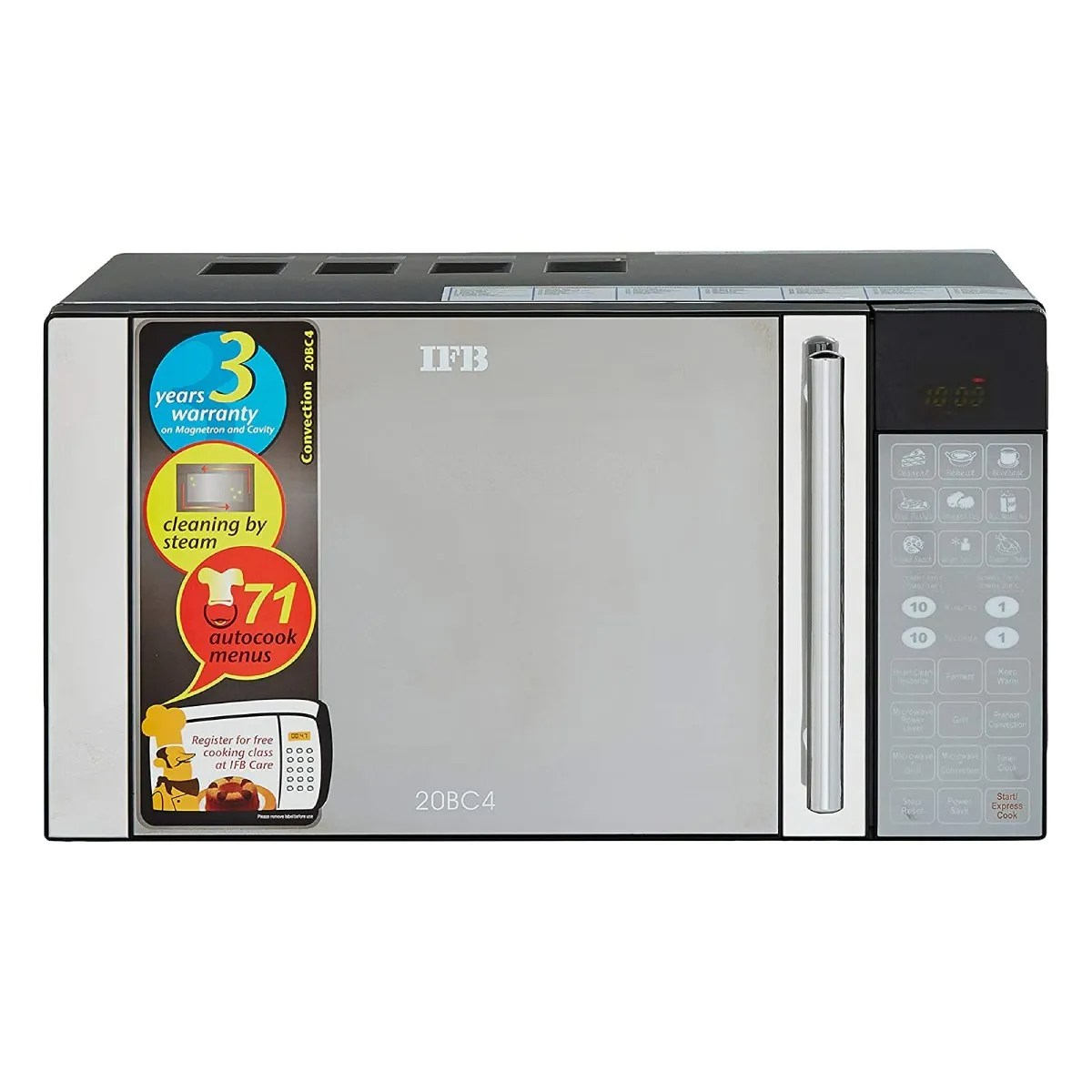ifb 20bc4 20 l convection microwave oven