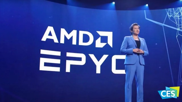 AMD CEO Lisa Su EPYC Server Processors CES 2021