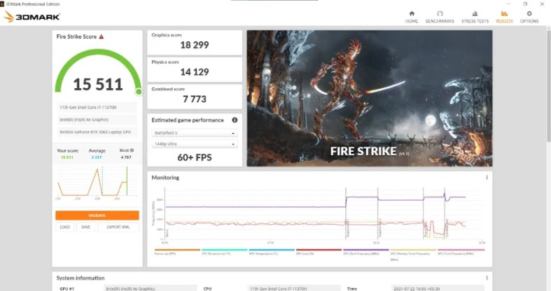 ASUS Laptop Gaming Performance Review Specs Price Benchmark