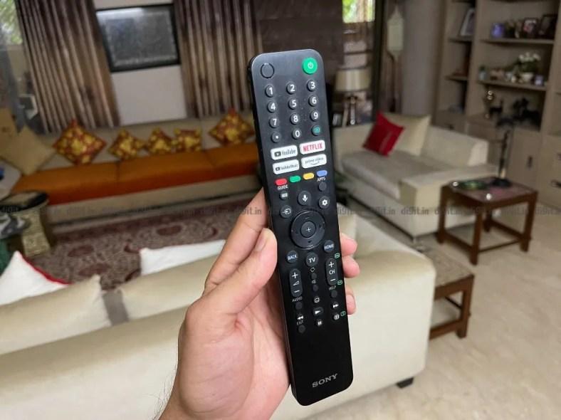 Sony X90J Remote Control