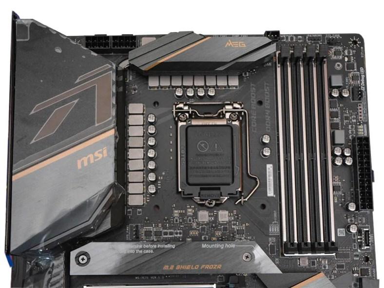 MSI MEG Z490 Ace Intel Comet Lake Motherboard