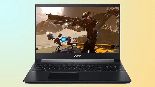 Acer 7 Gaming Laptop AMD Ryzen 5000 Mobile Processor CPU