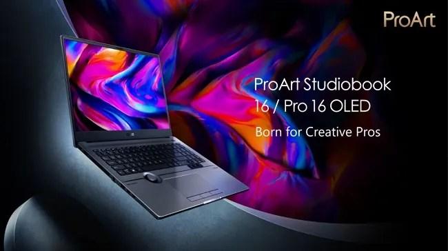 ASUS ProArt StudioBook 16/ 16 Pro