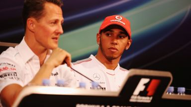 Will the Great Schumacher Reach Hamilton? Five records that still divide the two