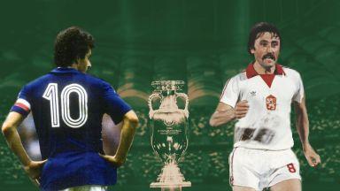История на европейското първенство: пет митологични героя