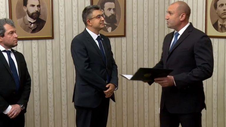 Пламен Николов от ITN получава мандат (видео)