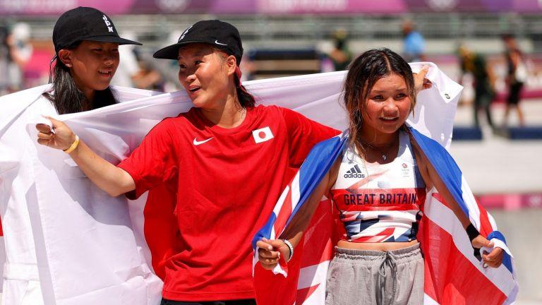 """Олимпийски финали или """"Бърз, смел, пъргав""""?  12-годишните и 13-годишните са спечелили медали в Токио."""