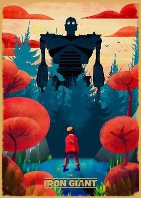 iron giant posters art prints