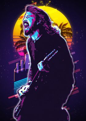 dave grohl poster by the poster displate