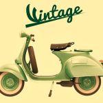 Vespa Vintage Poster Print By Giovanni Cancemi Displate