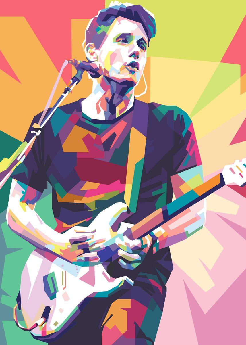 john mayer in pop art