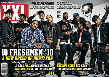 Image result for xxl freshman 2010 cover