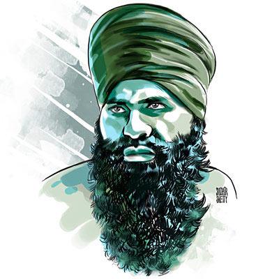 Devinderpal Singh Bhullar.