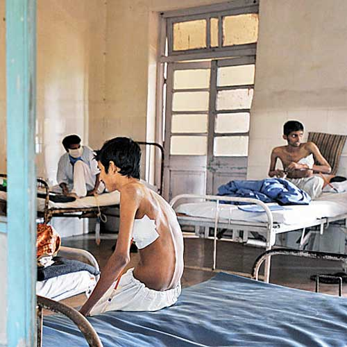 The disease has killed as many as 42 employees at the TB hospital in Sewri since 2005.