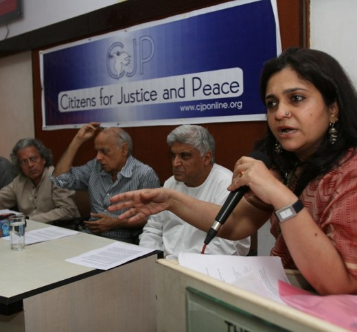 Teesta Setalvad's Citizens for Justice and Peace