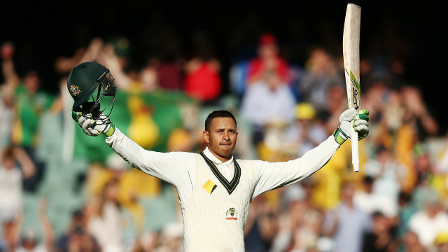 Australia Vs South Africa Usman Khawaja Hits Ton As Aussies Close In On Lead In Adelaide