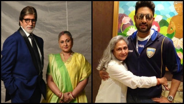Image result for jaya bachchan picture shared by abhishek bachan