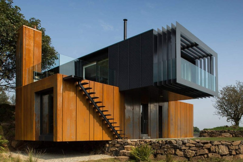 It's hard to believe this Grand Designs featured home is constructed out of four shipping containers.