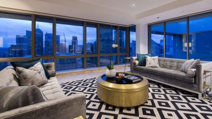 The Residence penthouse on Hyde Park.