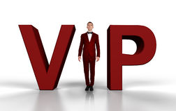 Businessman VIP Royalty Free Stock Photos